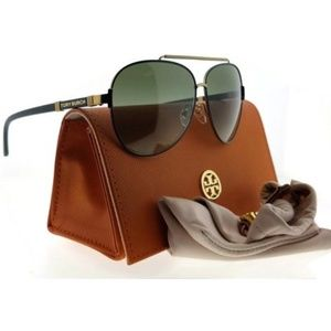 *New Tory Burch Full Rim Green Sunglasses*